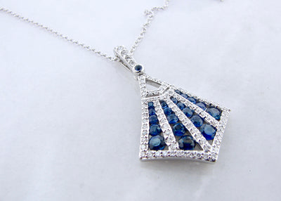 kite-shape-necklace-wexford-jewelers-white-gold-diamond