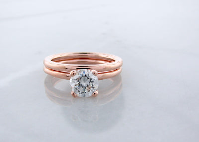round-brilliant-cut-diamond-ring-rose-gold-wexford-jewelers