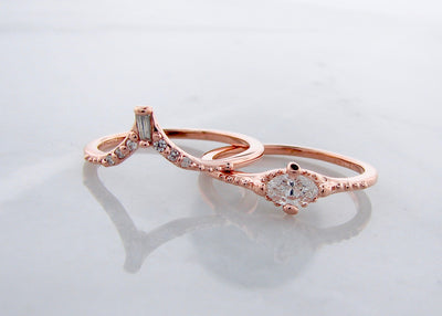 wexford-jewelers-eiffel-tower-rose-gold-diamond-wedding-ring-set