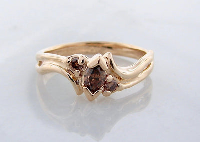 yellow-gold-chocolate-diamond-ring-wexford-jewelers