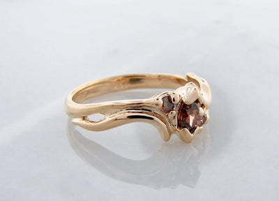 wexford-jewelers-marquise-round-chocolate-diamond-yellow-gold-ring