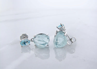 wexford-jewelers-silver-rough-aqua-march-birthstone-dangle-earrings