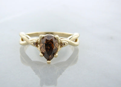 cognac-chocolate-colored-diamond-yellow-gold-ring-wexford-jewelers