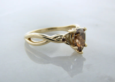 brown-chocolate-diamond-yellow-gold-wedding-ring-wexford-jewelers