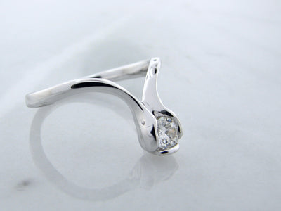 curved-0.27ct-diamond-engagement-ring-wexford-jewelers
