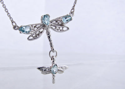 marquise-aquamarine-silver-dragonfly-necklace-wexford-jewelers