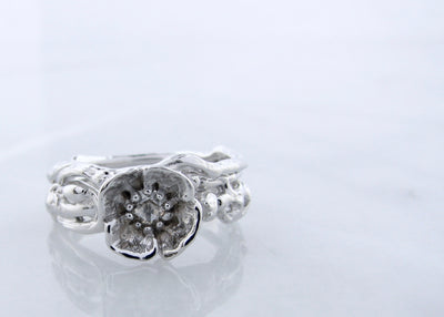 poppy-white-gold-rose-cut-diamond-wedding-ring-set-wexford-jewelers