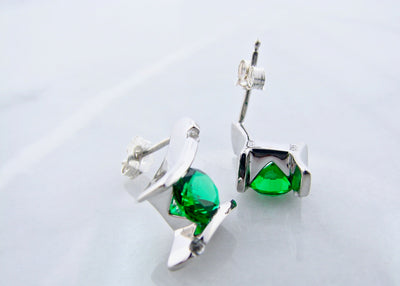 may-birthstone-silver-earrings-wexford-jewelers