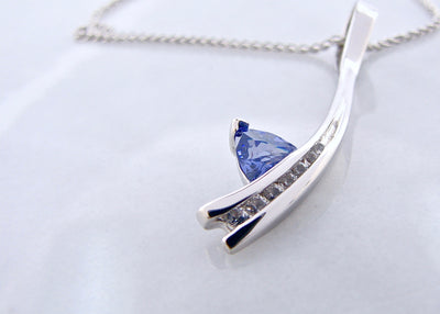 tanzanite-silver-white-sapphire-necklace-wexford-jewelers