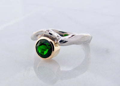 wexford-jewelers-frank-reubel-silver-gold-accent-ring-chromediopside