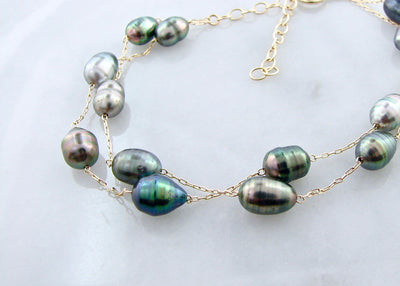 Tahitian-pearl-yellow-gold-bracelet-wexford-jewelers