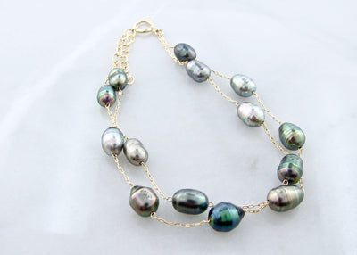 wexford-jewelers-peacock-colored-pearl-bracelet-yellow-gold