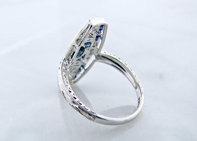 white-gold-milgrain-sapphire-diamond-ring-wexford-jewelers