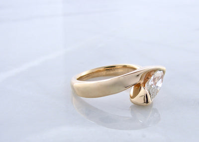 wexford-jewelers-yellow-gold-diamond-ring-bypass-marquise-diamond