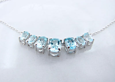 silver-blue-topaz-graduated-split-chain-necklace