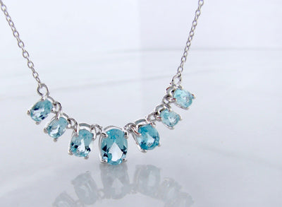 blue-topaz-silver-split-chain-necklace-wexford-jewelers