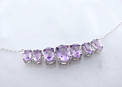 oval-amethyst-silver-split-chain-necklace-wexford-jewelers