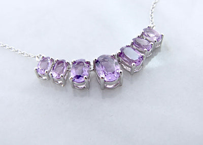 amethyst-silver-split-chain-necklace-wexford-jewelers