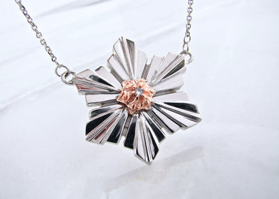 art-deco-snowflake-rose-gold-sterling-necklace-snow