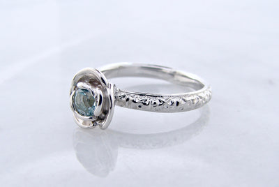 silver-birthstone-aquamarine-vitnage-stacking-ring-wexford-jewelers