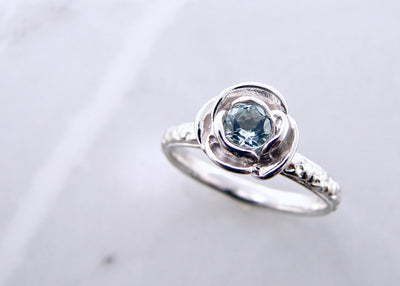 aquamarine-silver-rose-ring-wexford-jewelers