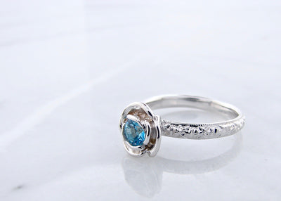 blue-topaz-silver-rose-ring-wexford-jewelers