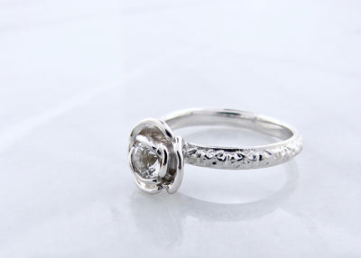 April-silver-rose-ring-wexford-jewelers-stacking-ring
