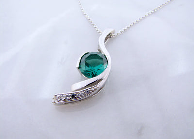 blue-green-quartz-silver-necklace-wexford-jewelers