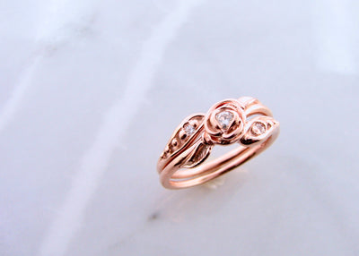moissanite-rose-gold-wedding-ring-set-wexford-jewelers