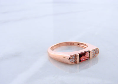 garnet-rose-gold-diamond-ring-wexford-jewelers