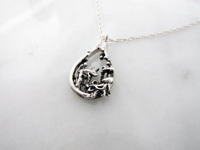 ocean-scene-mini-pendant-silver-necklace-wexford-jewelers