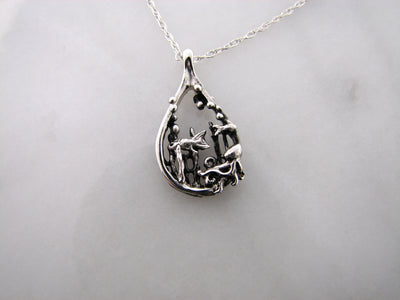 ocean-scene-mini-pendant-silver-necklace