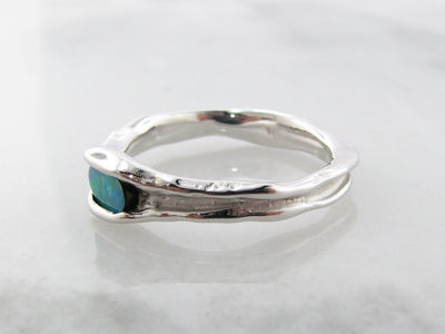 melted-band-silver-opal-ring-horizontal-wexford-jewelers