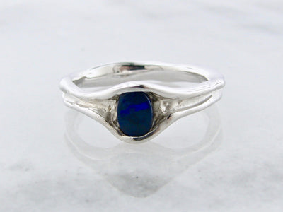 opal-blue-vertical-silver-ring-wexford-jewelers