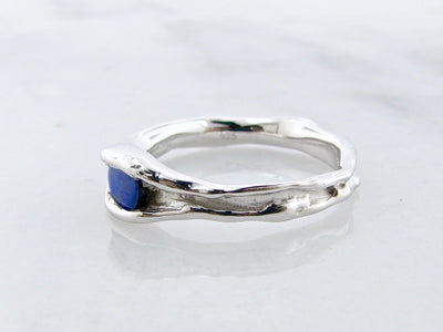 opal-melted-blue-wexford-jewelers-melted-silver-ring