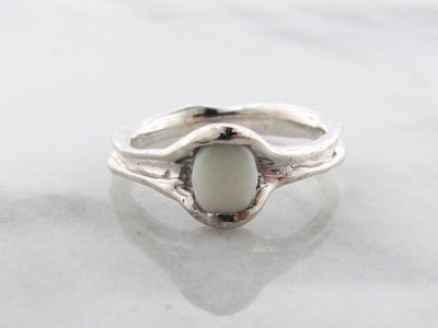 opal-melted-silver-ring-wexford-jewelers