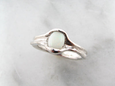 wexford-jewelers-opal-silver-melted-band