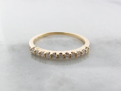 yellow-gold-11-diamond-anniversary-ring-wexford-jewelers