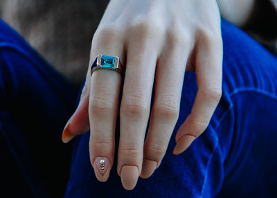 chunky-silver-ring-teal-blue-green-gemstone-bold-band-wexford