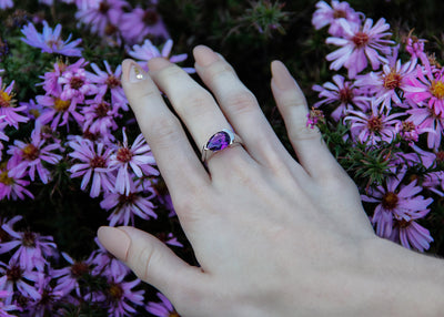 asymmetrical-ring-sleek-bold-pear-shape-amethyst-silver-wexford-jewelers