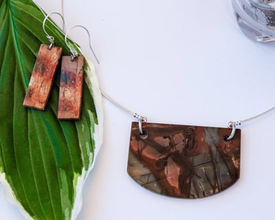 Picasso Jasper Necklace