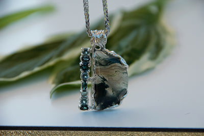 silver-moss-agate-necklace-wexford-jewelers