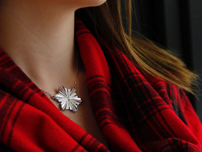 winter-scarf-snowflake-pendant-necklace-michigan-upnorth