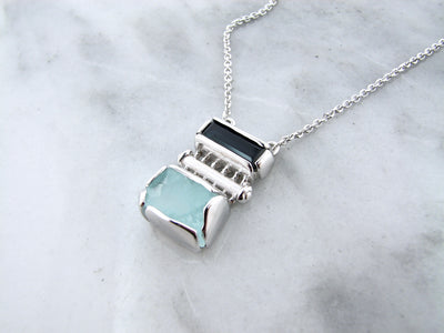 raw-aqua-blue-tourmaline-silver-necklace-wexford-jewelers