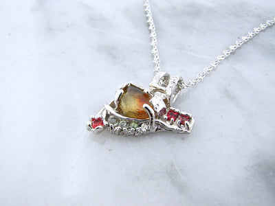 rustic-designed-jewelry-silver-gemstone-necklace-wexford-jewelers