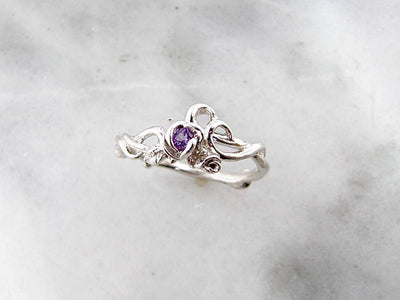 amethyst-rose-garden-silver-ring-wexford-jewelers