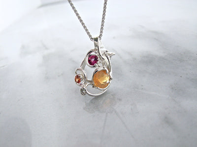 mexican-fire-opal-topaz-silver-necklace-wexford-jewelers