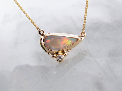 lightening-ridge-opal-split-chain-necklace-wexford-jewelers