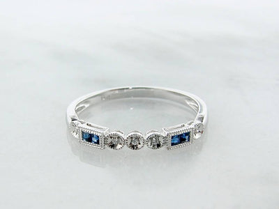 blue-sapphire-diamond-vintage-white-gold-ring-wexford-jewelers