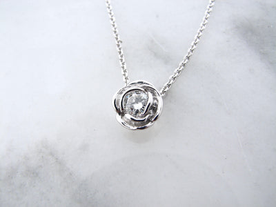 wexford-jewelers-silver-rose-slider-necklace-moissanite